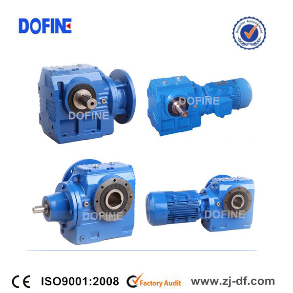 DOFINE industrial gearmotors S series helical reduction gear box
