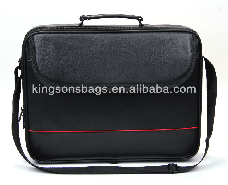 Cheap Conference Bags 15.6 Inch Laptop Business PU Man Bag