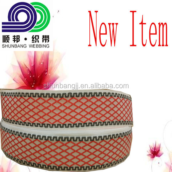 High grade export standard knitted woven sewing mattress webbing band tape(N1061#)
