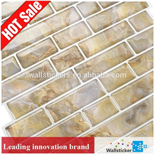 New wall and floor wall sticker / decorative vinyl tile sticker