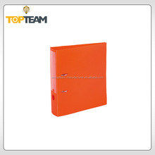 Fashion new design pp lever arch file with printing,clamp file folder,hard cover file folder