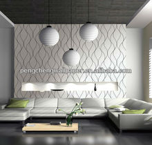 vinyl wallpaper for restaurant decoration hot sales 2013 year