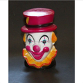 Designer Custom Maker Vintage Bank Circus Clown Red Top Hat Yellow Collar Plastic Coin Bank for Kids Gifts
