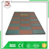 Colorful safety playful recycled rubber flooring