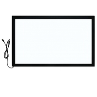 USB interactive touch screen frame for tv