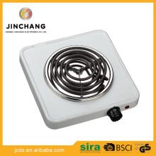 portable heating element cooker 1500w induction coil single burner stove hot plate