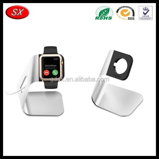 China trade assurance manufacturer OEM aluminum multiple mobile phone watch stand, holder stand charging dock