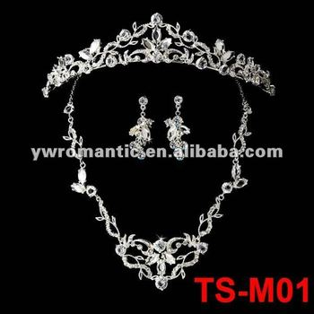 2012 wedding jewelry set tiara