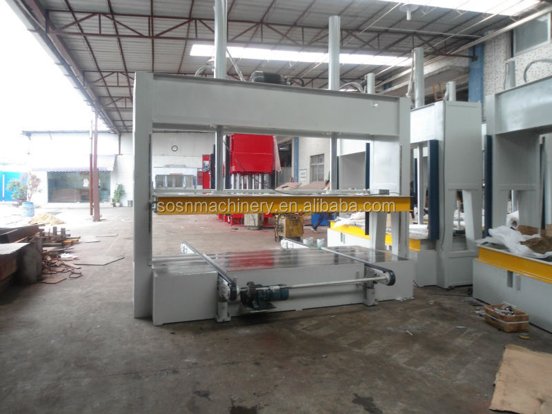 Plywood Cold Press/Prepress machinery