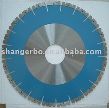 Laser-welded split segmented Masonry Cutting Saw