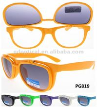 2014 most popular China manufacturer flip up sunglasses