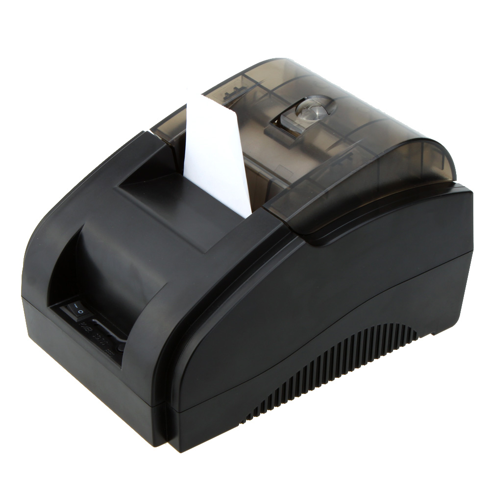 High-speed 58mm POS Dot Receipt Paper Thermal Printer USB interface Built-in Data Buffer for Supermarket Bank Restaurant Bar