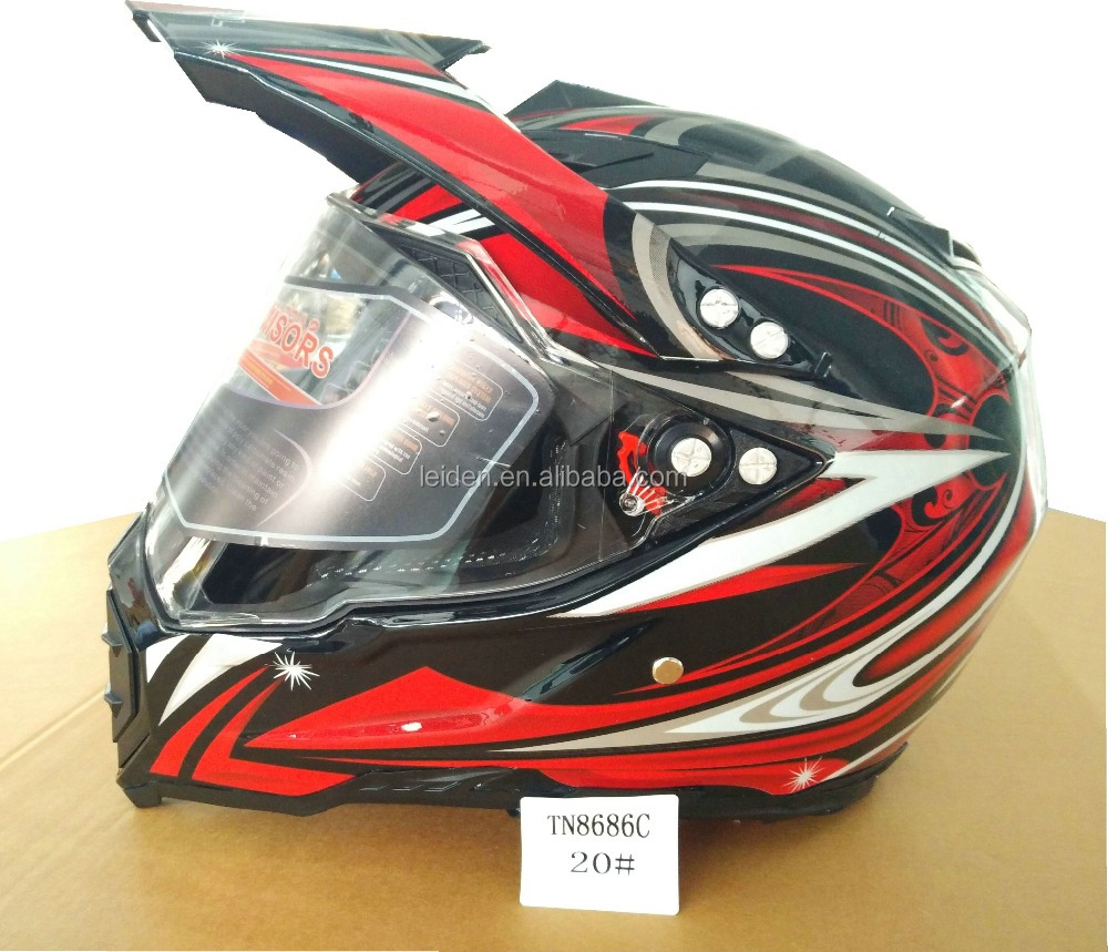 2017 Newest Off-road helmets for Motorcycle with DOT.CE certificate