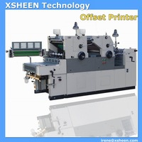 Used mini offset printing machine and number