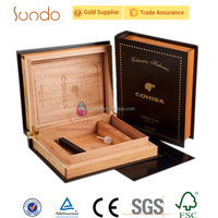 wholesale real wood cigar box for business