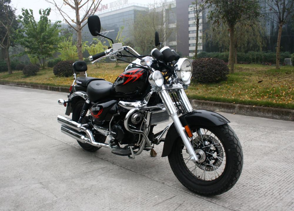 China Chongqing Cheap Chopper Motorcycle 250cc Gas Chopper