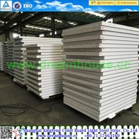 EPS insulated sandwich panel/prefabricated sandwich wall panels /EPS Sandwich Panel for Roof and Wall