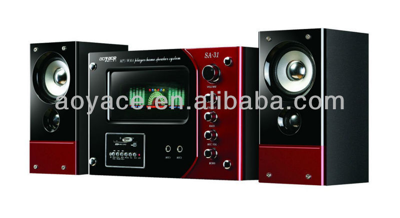 35 watt speaker multimedia audio with usb/sd/fm and remote