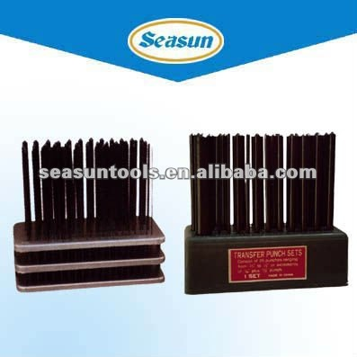 Transfer Steel Letter Number Punches Set