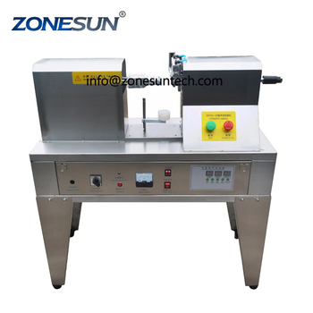 ZONESUN Plastic tube sealing machinery,Ultrasonic soft hose  equipment tools composite hose/pipe welding cream container supply