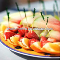 hot sale bamboo fruit pick skewer stick