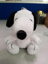 snoopy plush toy with sitting and standing poses