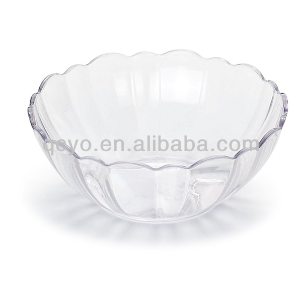 High quality acrylic imitation crystal fruit plate home decor fashion design