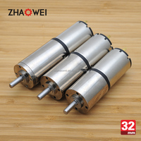 12v 32mm High torque electric dc motor with Planetary gearbox