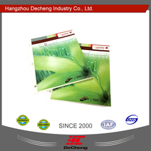 Standard display fabric shade color card