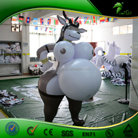 Real Inflatable Deer Sexy Toys for Men Big ass Animal Women Inflatable Goat Sheep Girl Sex Doll Adult Balloon SPH PVC