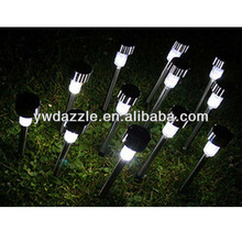 section 7 AAA battery 1pcs led solar lighting outdoor garden