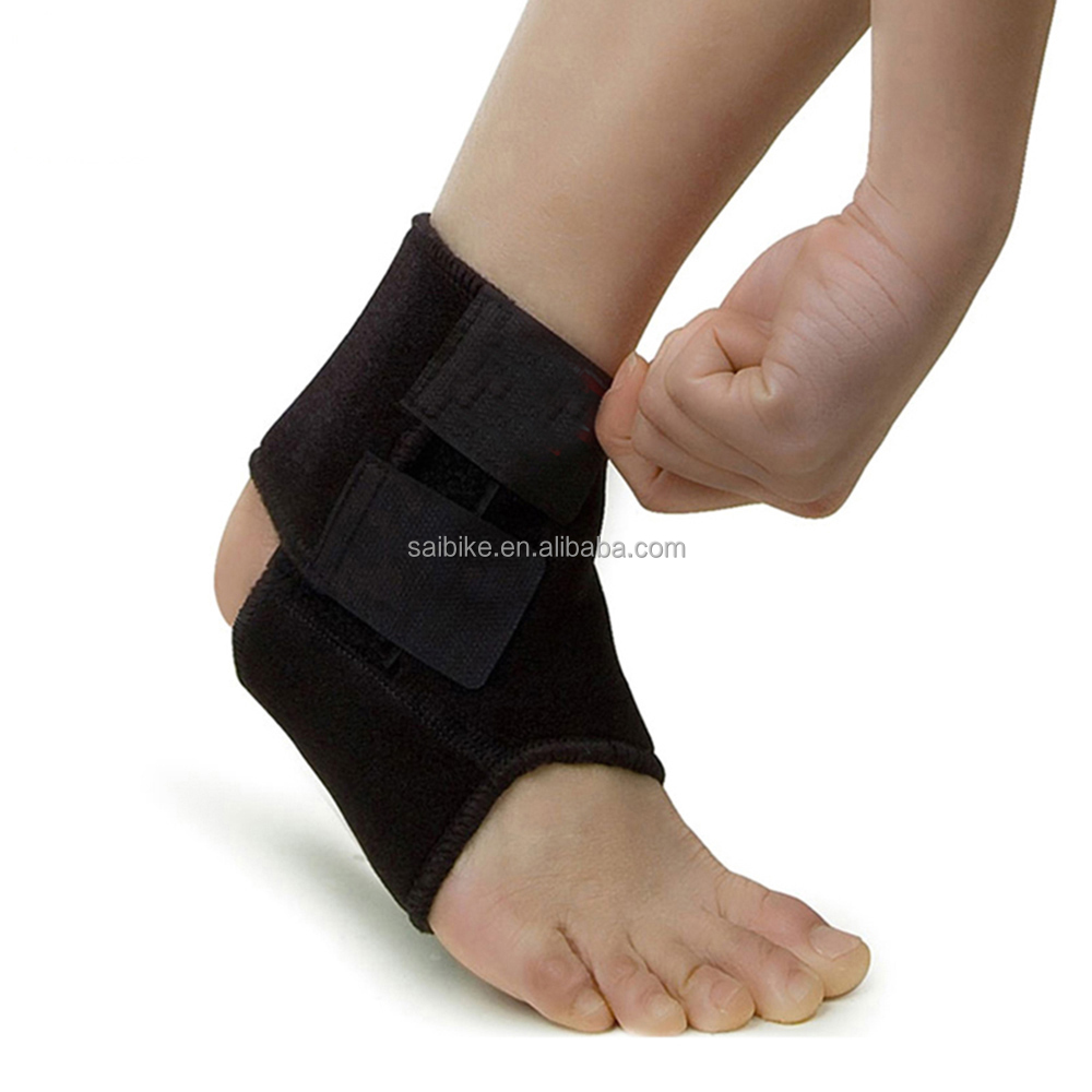 Compression breathe neoprene Neoprene Waterproof Colored Ankle Adjustable ankle support