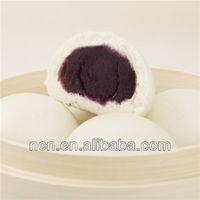 asian/chinese foods flour frozen sweet Buns (Purple Sweet Potato Flour)
