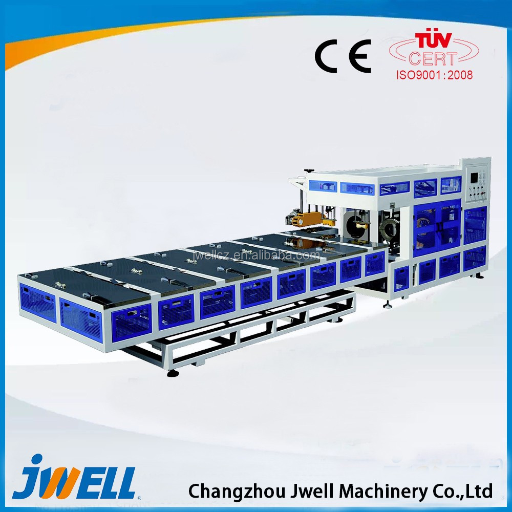 Jwell HDPE/PP/PVC Vertical Type Double Wall Corrugated Pipe Used Extrusion Machine