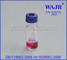 2ml auto sampler Glass Vials HPLC 9mm vials V917 auto sampler vial V927 substitute for Agilent 5182 0715