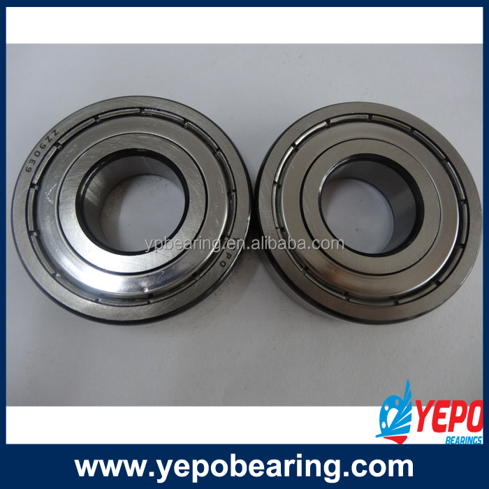 Made in China factory producing motorcycle 6300-2RS deep groove ball bearings low price supply all sorts of ball bearings