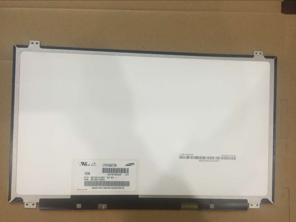 TOP Laptop Screen Supplier for 15.6 EDP 30PIN LED NT156WHM-N12 LTN156AT37 LTN156AT39 laptop screen