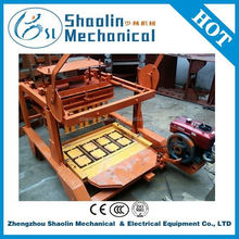Easy operating mini concrete block machine with best price