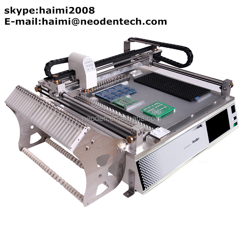 NeoDen pick and place machine TM245P-led making machine, led bulbs tube pcb assembly smd led mounting
