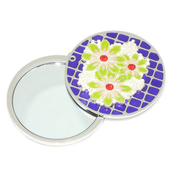 Wholesale promotional small custom handbag mirror mini