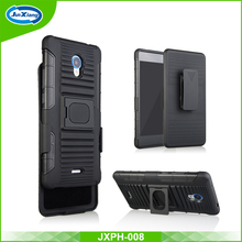 Buckle Ring Kickstand Belt Clip Holster Phone Case for ZTE A580