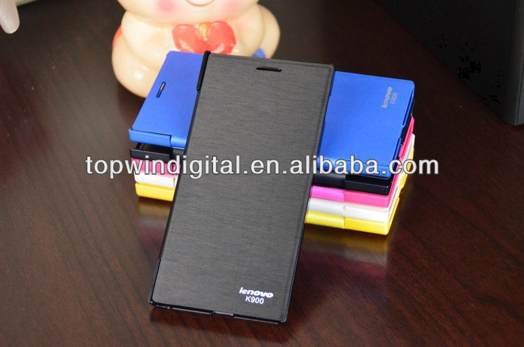 Newly PU Leather Protective Case For Lenovo K900