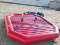 Factory directly sell inflatable bungee trampoline Z1052
