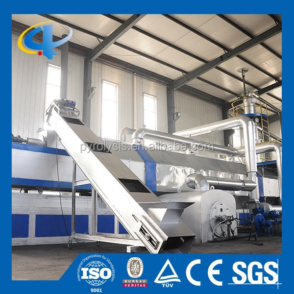 Waste Tire Recycling Machine Used Energy Oil Recovery Machine