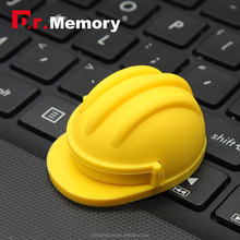 Dr.memory new hot safety helmet pendrive 2.0 best promotion usb gift for Engineer/workers