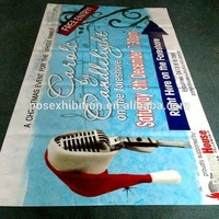 Custom Promotional Advertising Outdoor pvc flex hanging banner