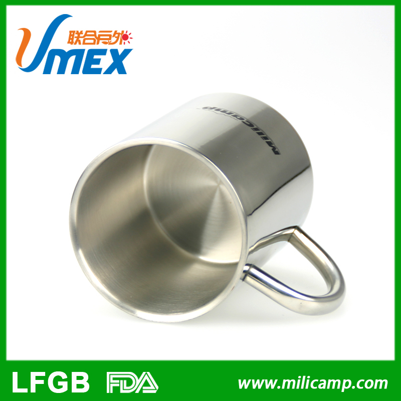 301 outdoor drinking stainless steel coffee cup
