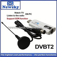 digital dvb t2 online tv tuner with SDR function