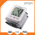 Automatic wrist watch blood pressure measure device FDA approval