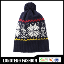 Wholesale Top Quality Different Colours knitted beanie hat, custom beanie hat Made In China